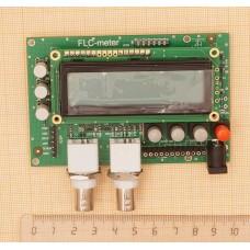 FLCG meter SMD-M. Частотомер, измеритель индуктивности и ёмкости, генератор. Собранная плата+корпус.  Неоткалиброванная.